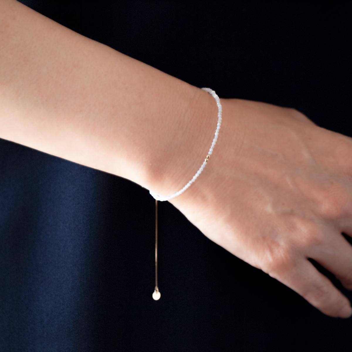 Stone bracelet / Opal