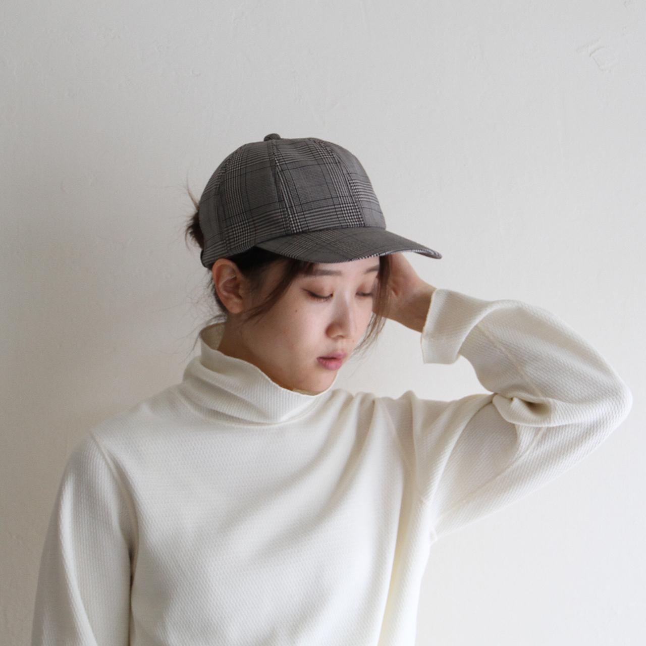 HICOSAKA【 mens 】teckwool 8panel cap