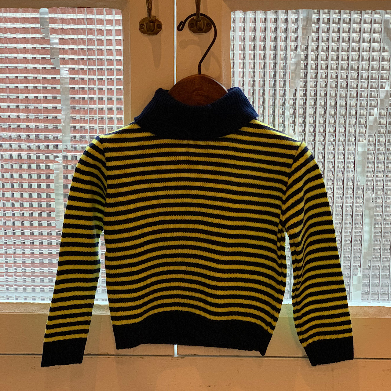 【KIDS】70's Striped Sweater - French -