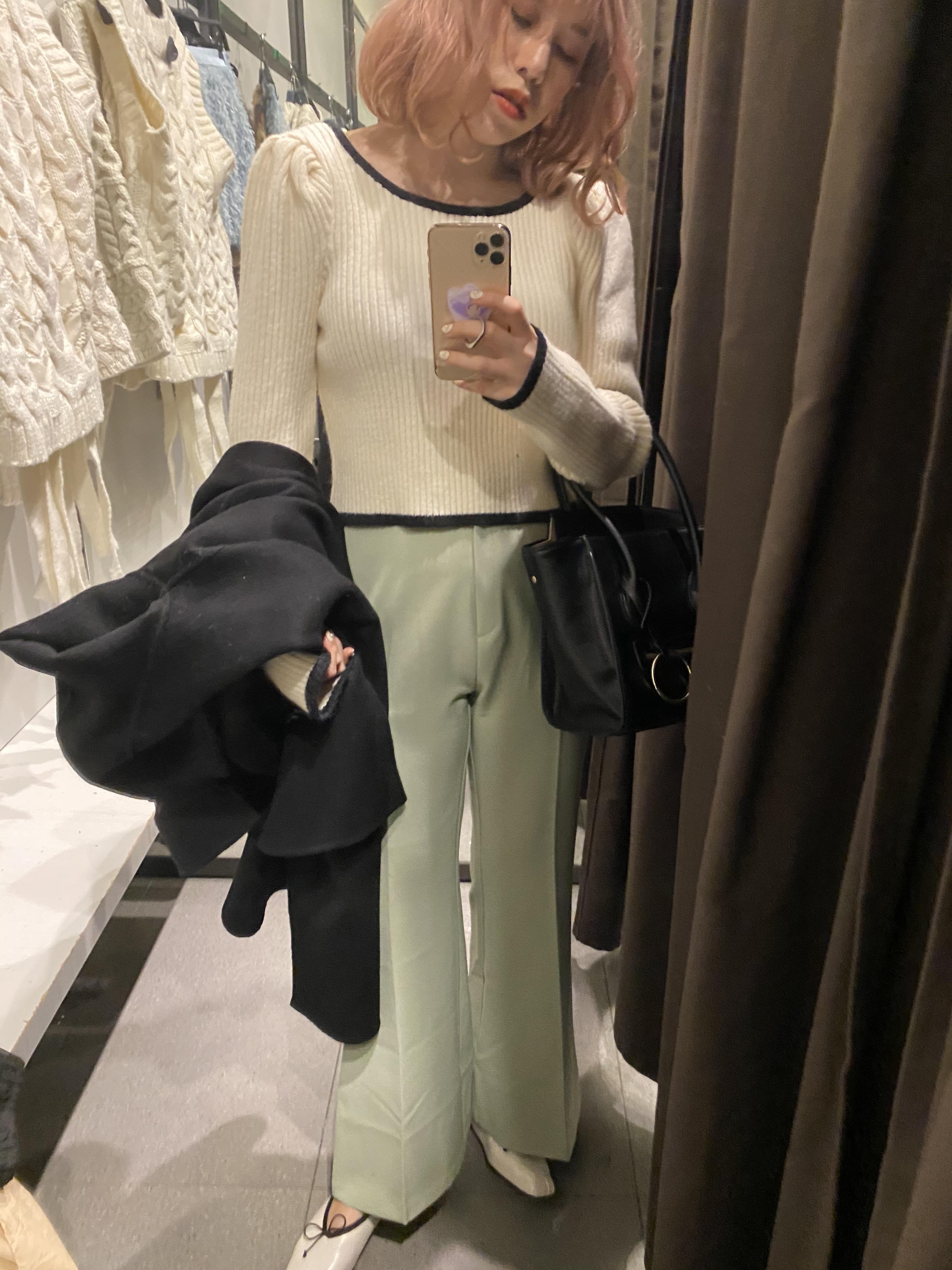 pale color pants