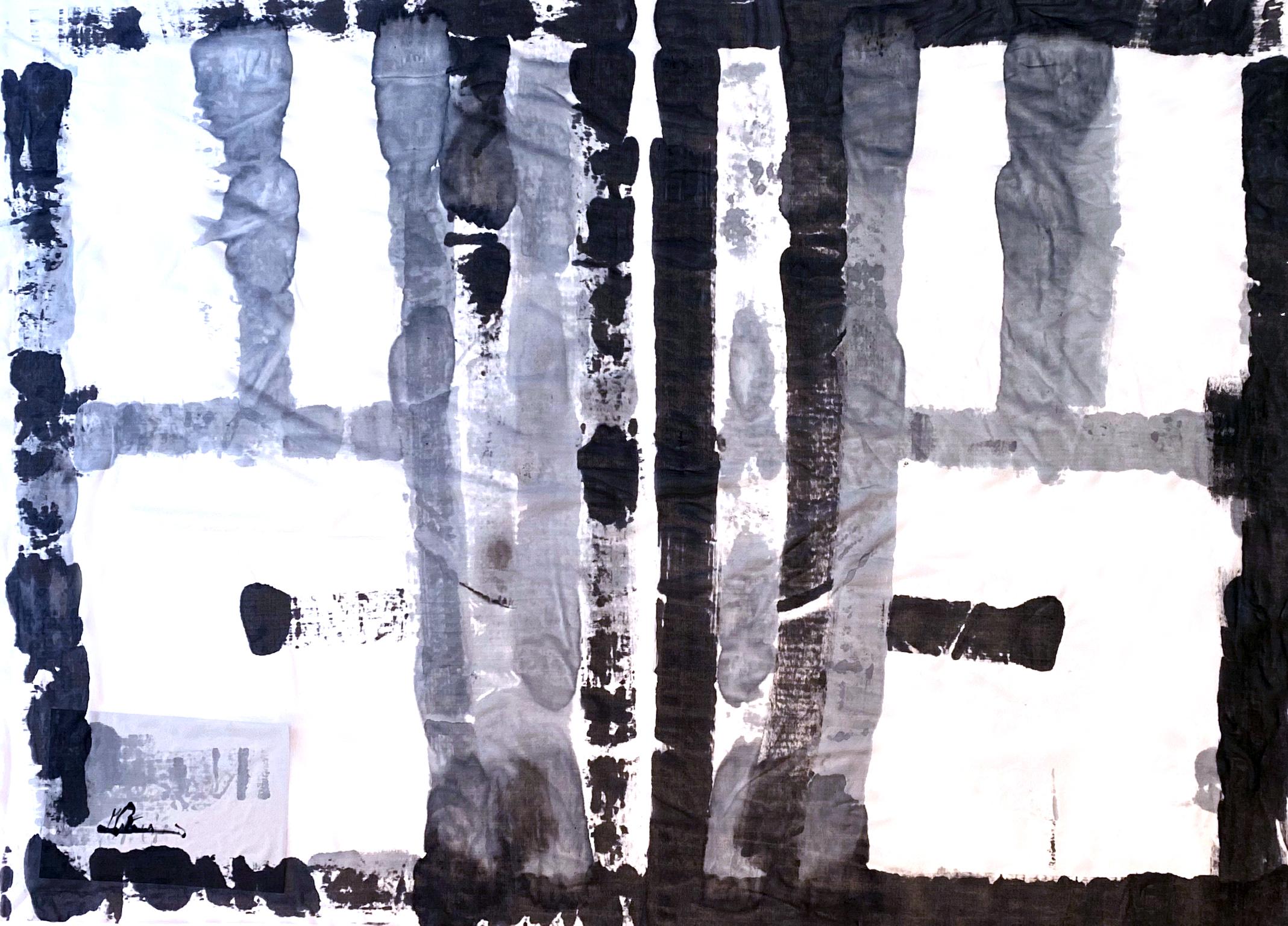 [売約済][着るアートストール]PLAIN CORNICE STOLE【SILKシルク】1117SILK-HP62 [登録意匠][送料/税込]