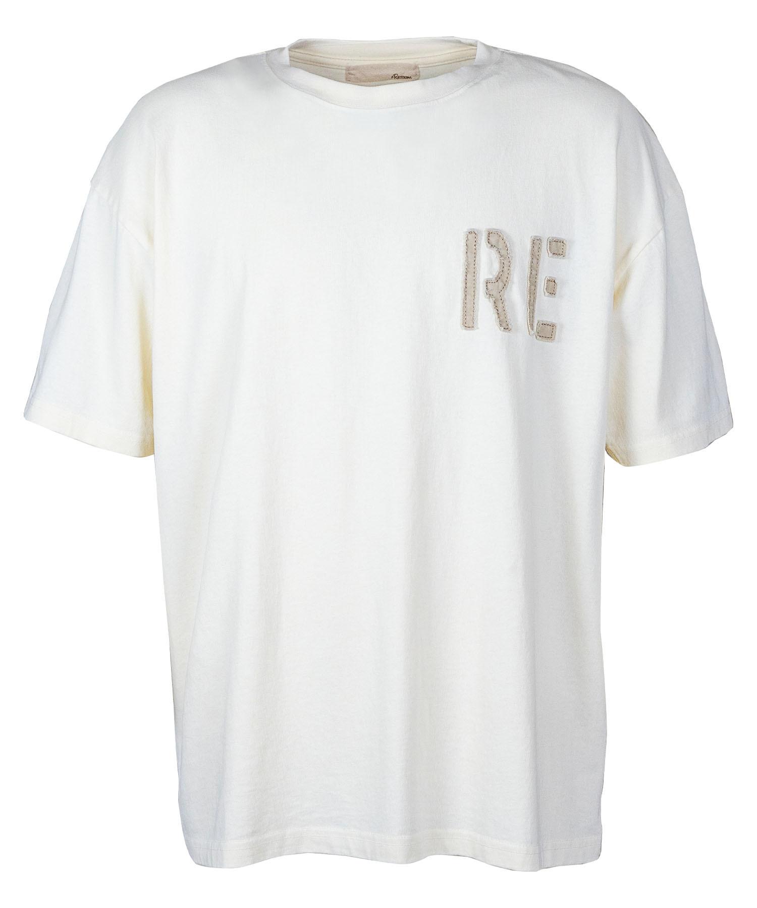 VINTAGE TWILL WAPPEN LOGO BIG T-shirt[REC497]
