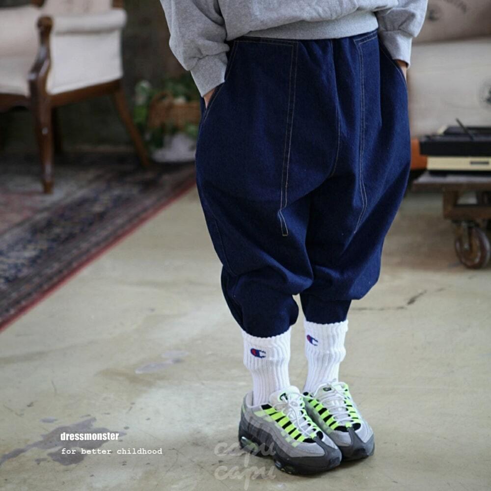 «先行予約割引» dressmonster line denim pants 2colors ラインデニム