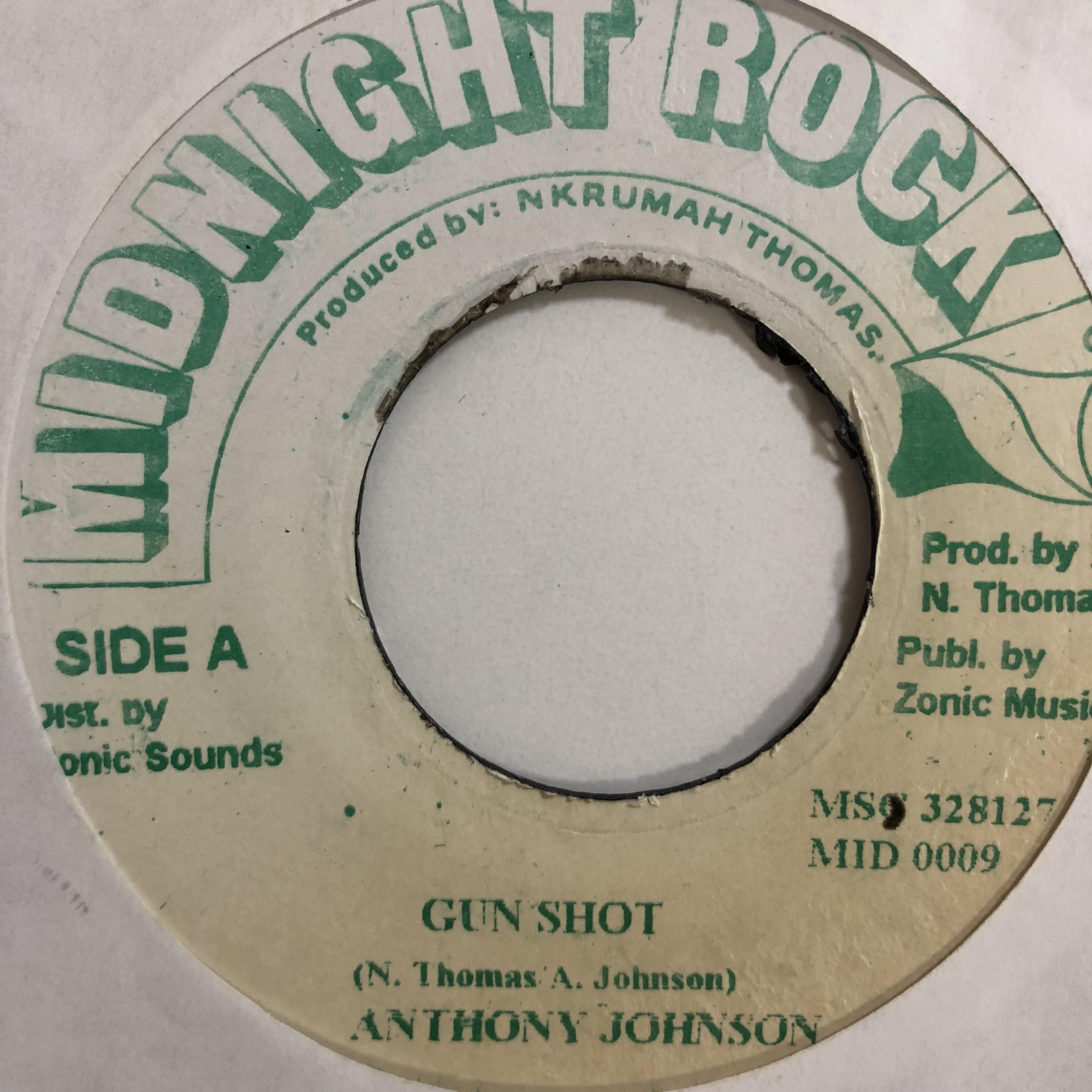Anthony Johnson(アンソニージョンソン) - Gun Shot【7'】