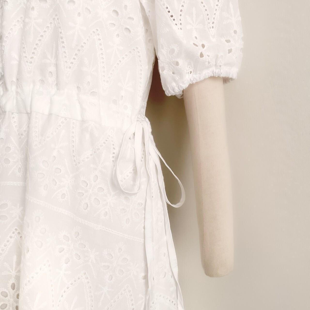 再販【meltie】cotton lace one piece
