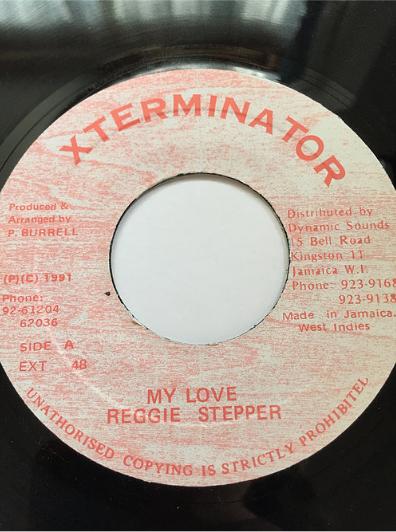 Reggie Stepper(レジーステッパー) - My Love【7'】