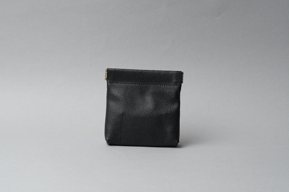 ワンタッチ・コインケース ■ブラック・ブラック■ - 画像2
