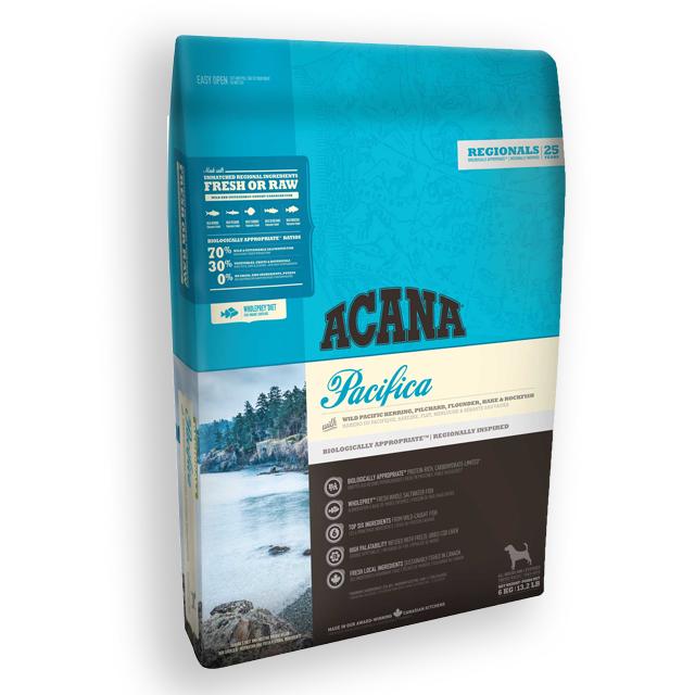 アカナ パシフィッカドッグ 全犬種全年齢用 2㎏ プレミアムドッグフード