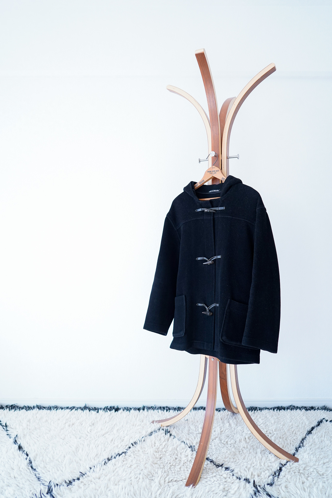 "【1980s】""Gloverall"" Wool Duffle Coat / v444"
