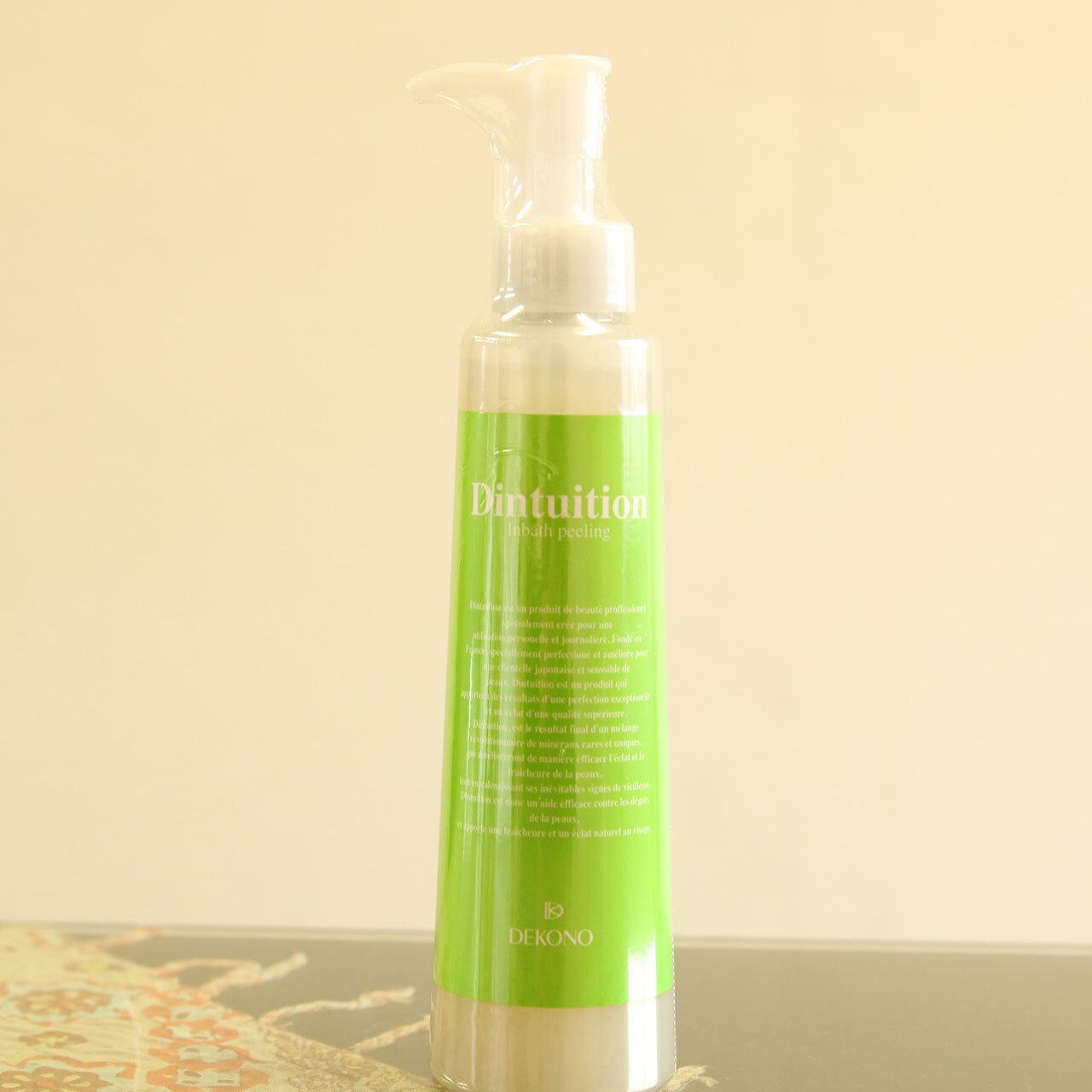 ピーリング 天然精油の香り 全身使えるピーリングジェル スキンケア DEKONO ディインテュイション インバス ピーリング 200ml