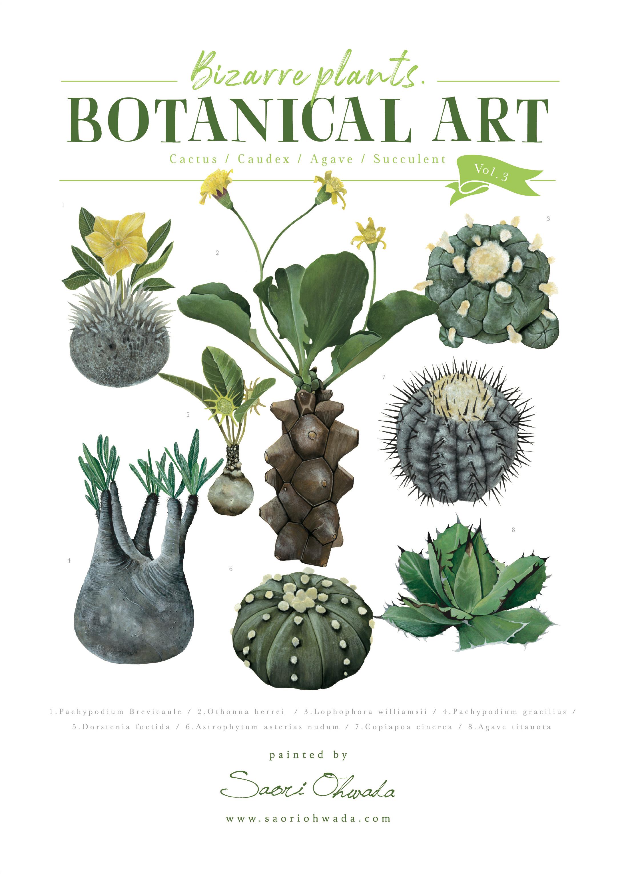 Botanical ポスター vol.3