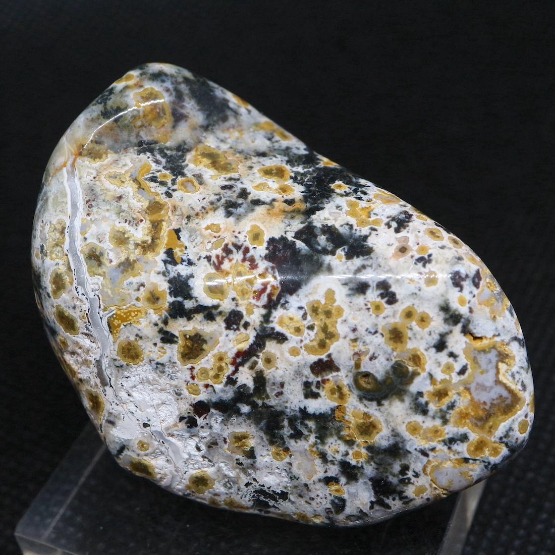 オーシャンジャスパー マダガスカル産 56,8g OJ088 鉱物 天然石 原石 パワーストーン