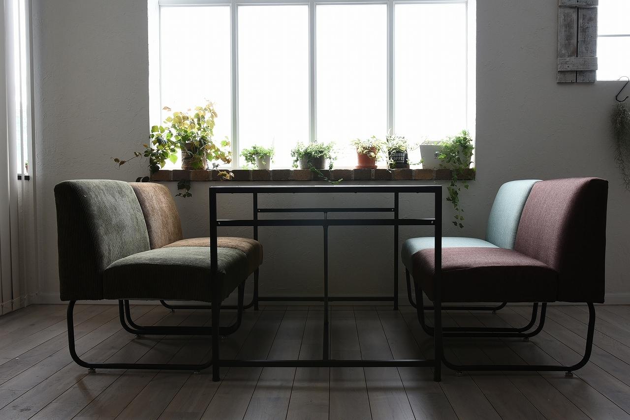 Industrial Dining Low Table / インダストリアルスタイル インダストリアル ダイニング ローテーブル