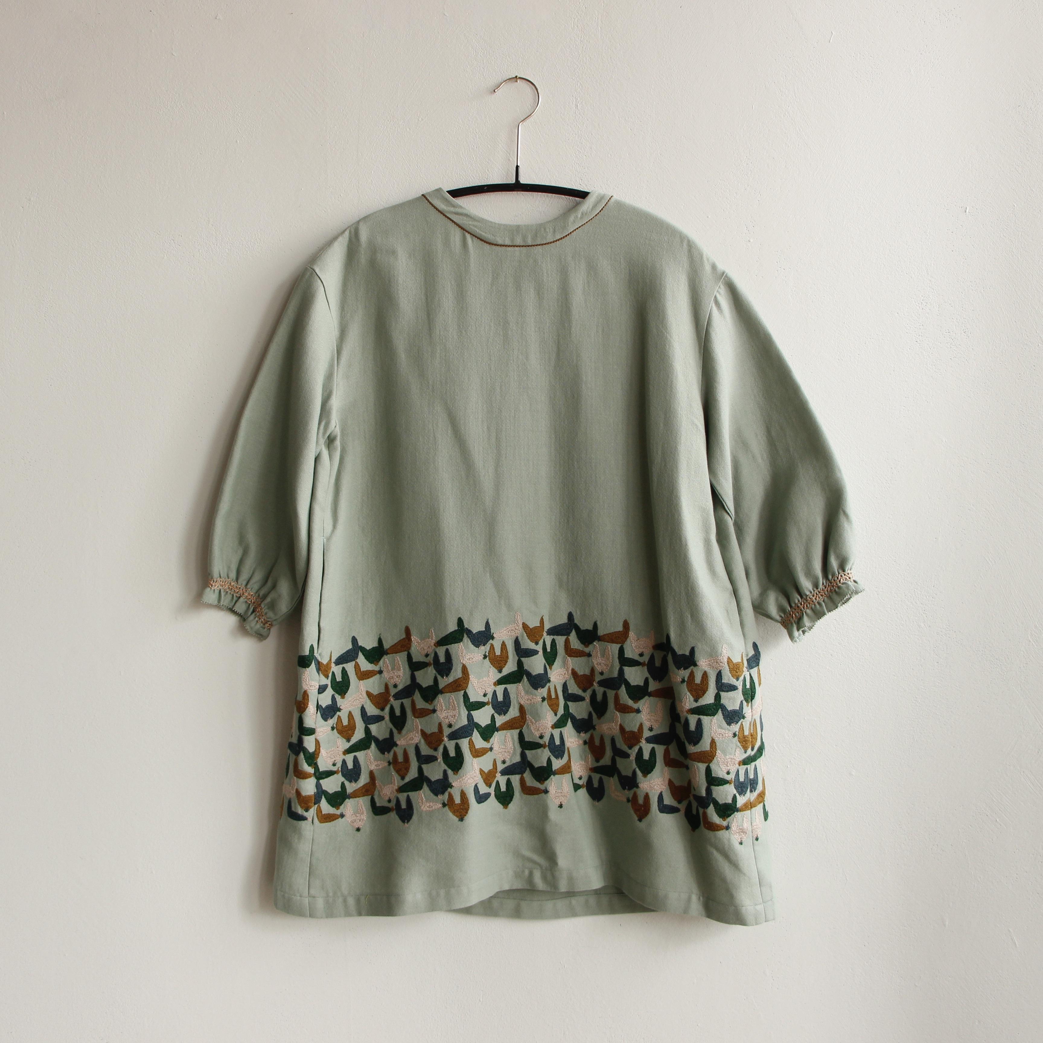 《mina perhonen 2020AW》repo ドレス / green / 100cm