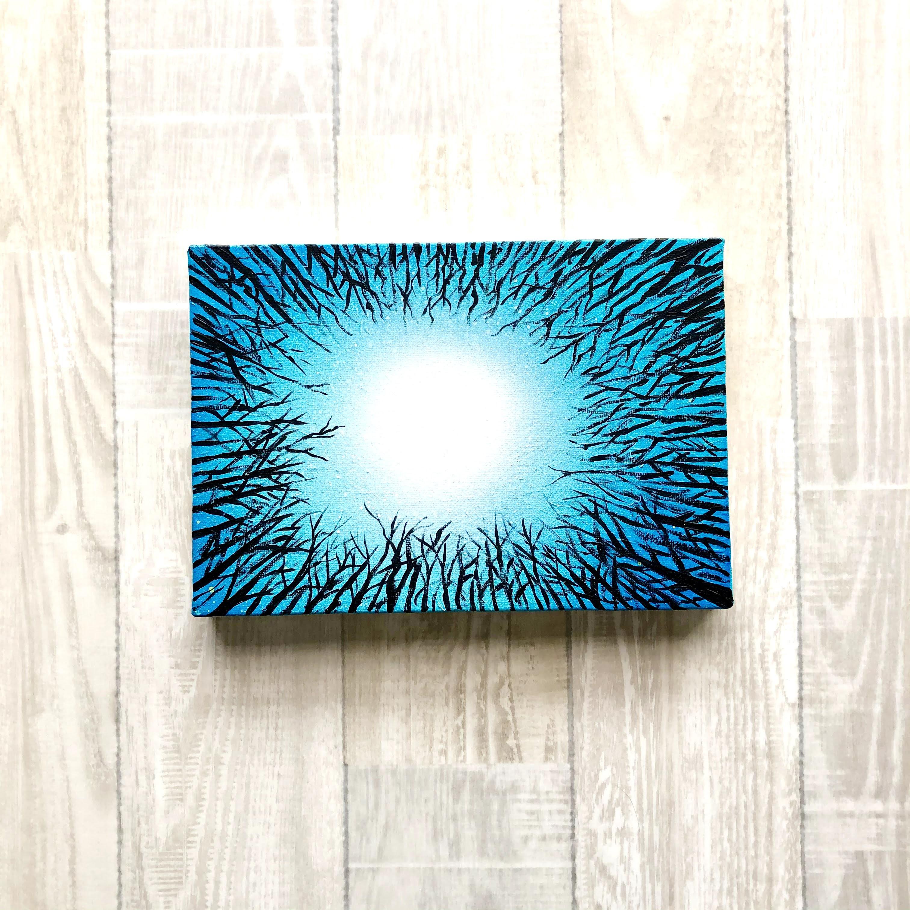 「生きること」 キャンバスパネル風景画