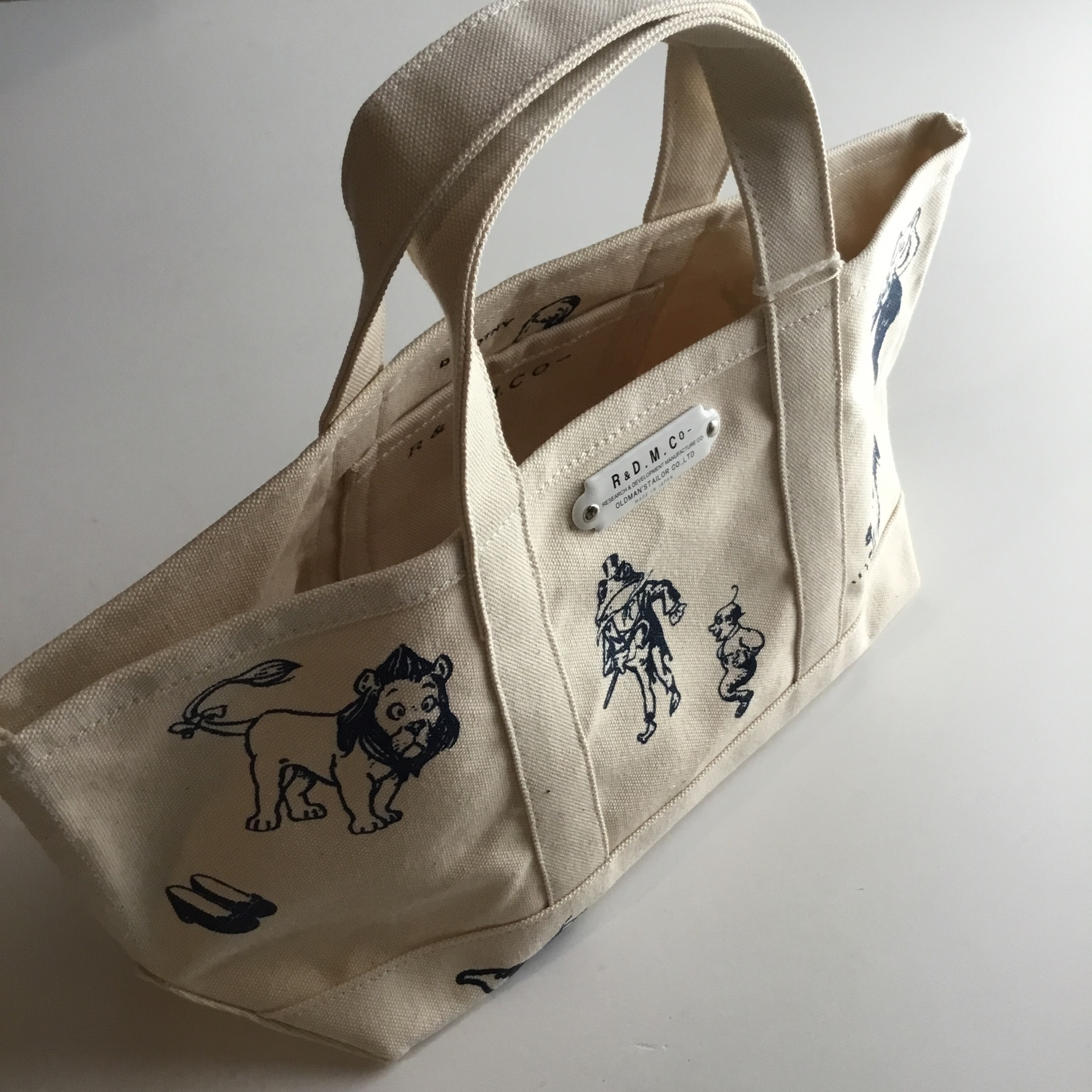 R&D.M.Co-/OLDMAN'S TAILOR OZ suprise tote bag size S natural