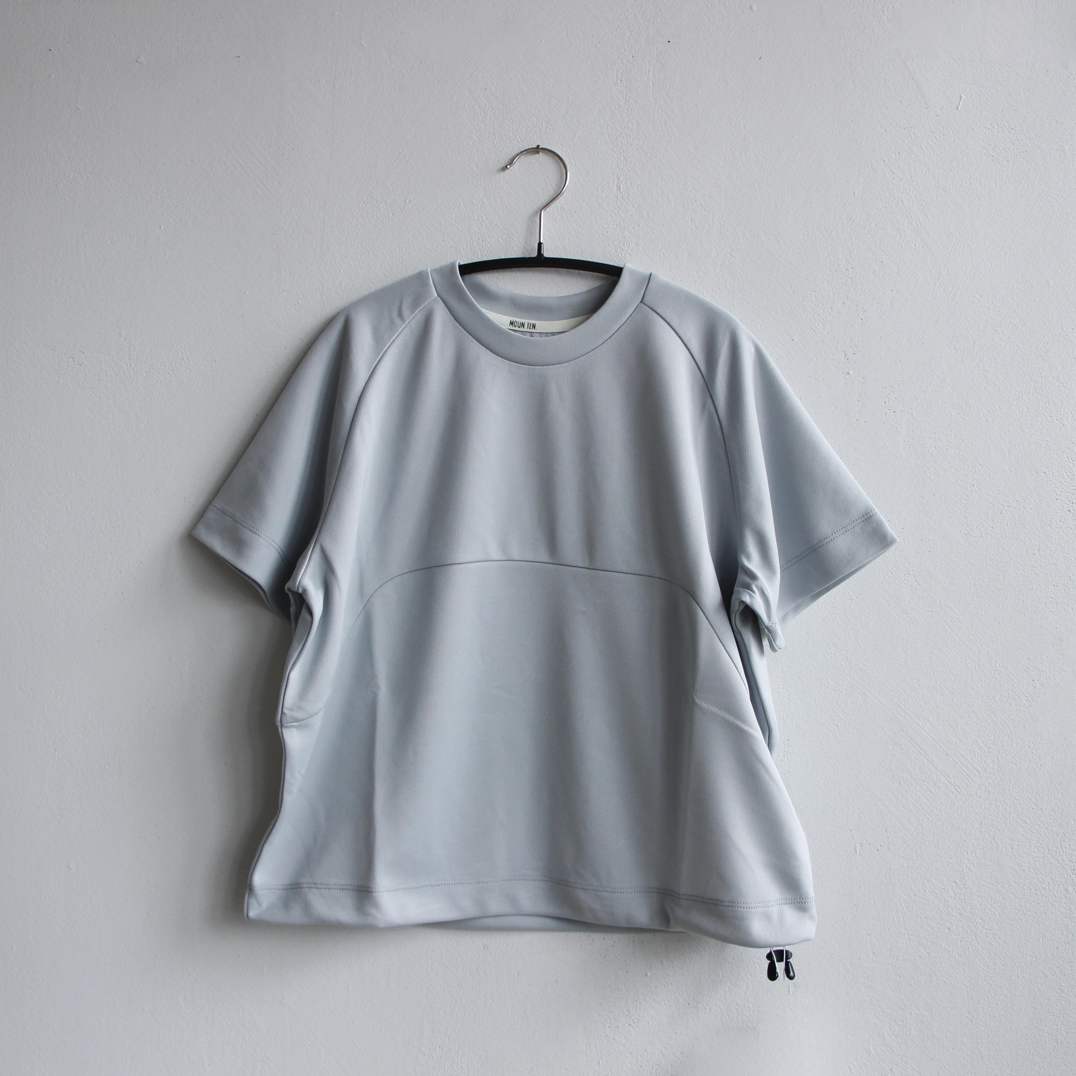 《MOUNTEN. 2021SS》drawcord T / gray / size0