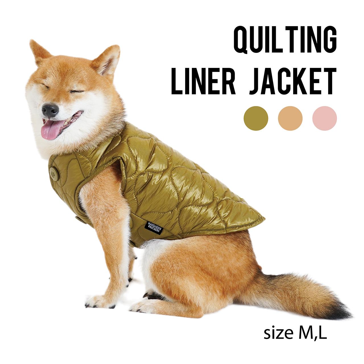 QUILTING LINNER JACKET(M,L) キルティングライナージャケット