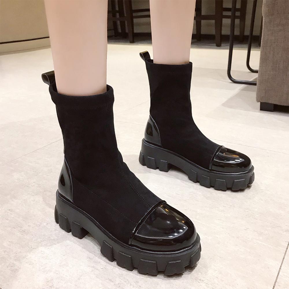 レディース 歩き やすい ショート ブーツ