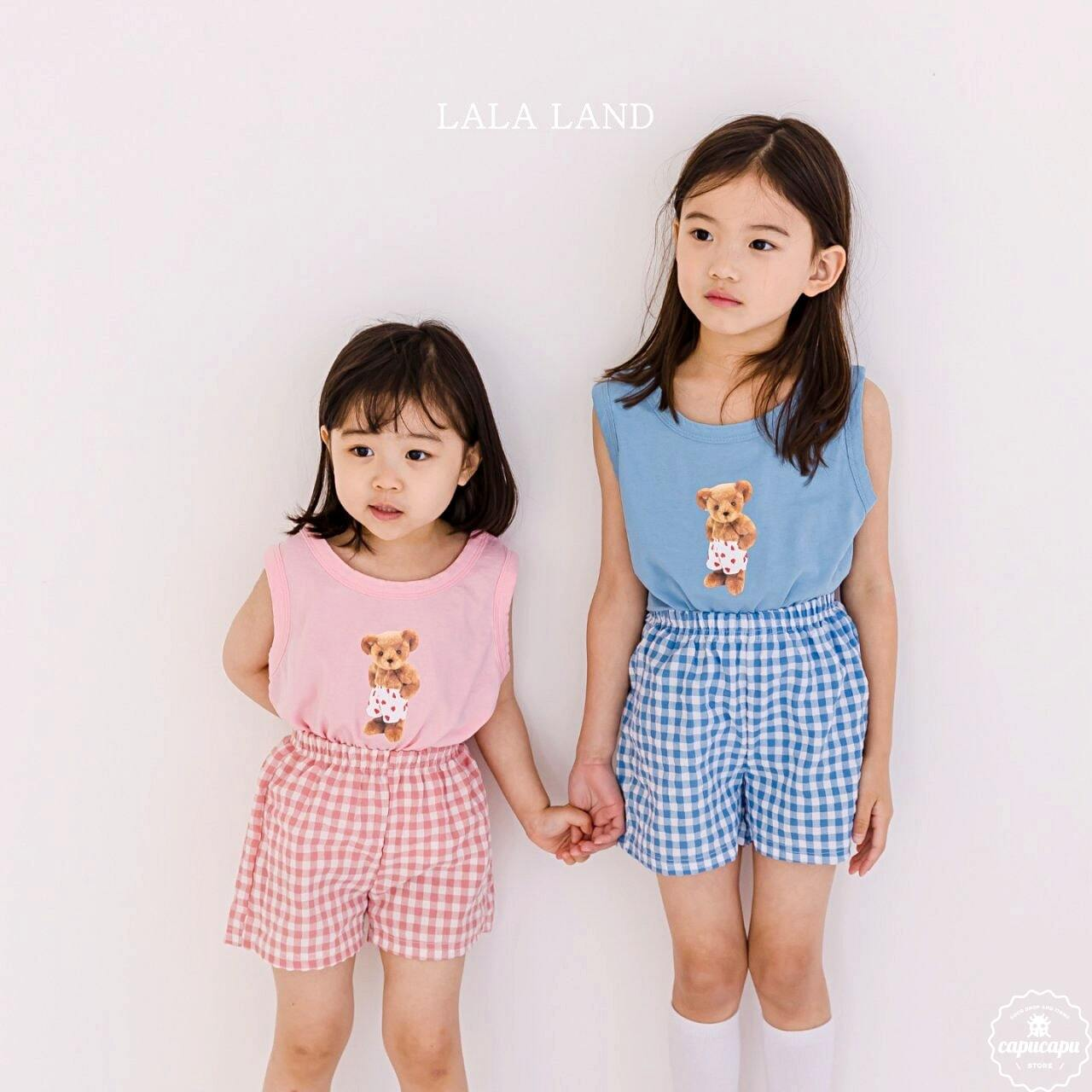 «sold out» LALA LAND bear setup くまのセットアップ