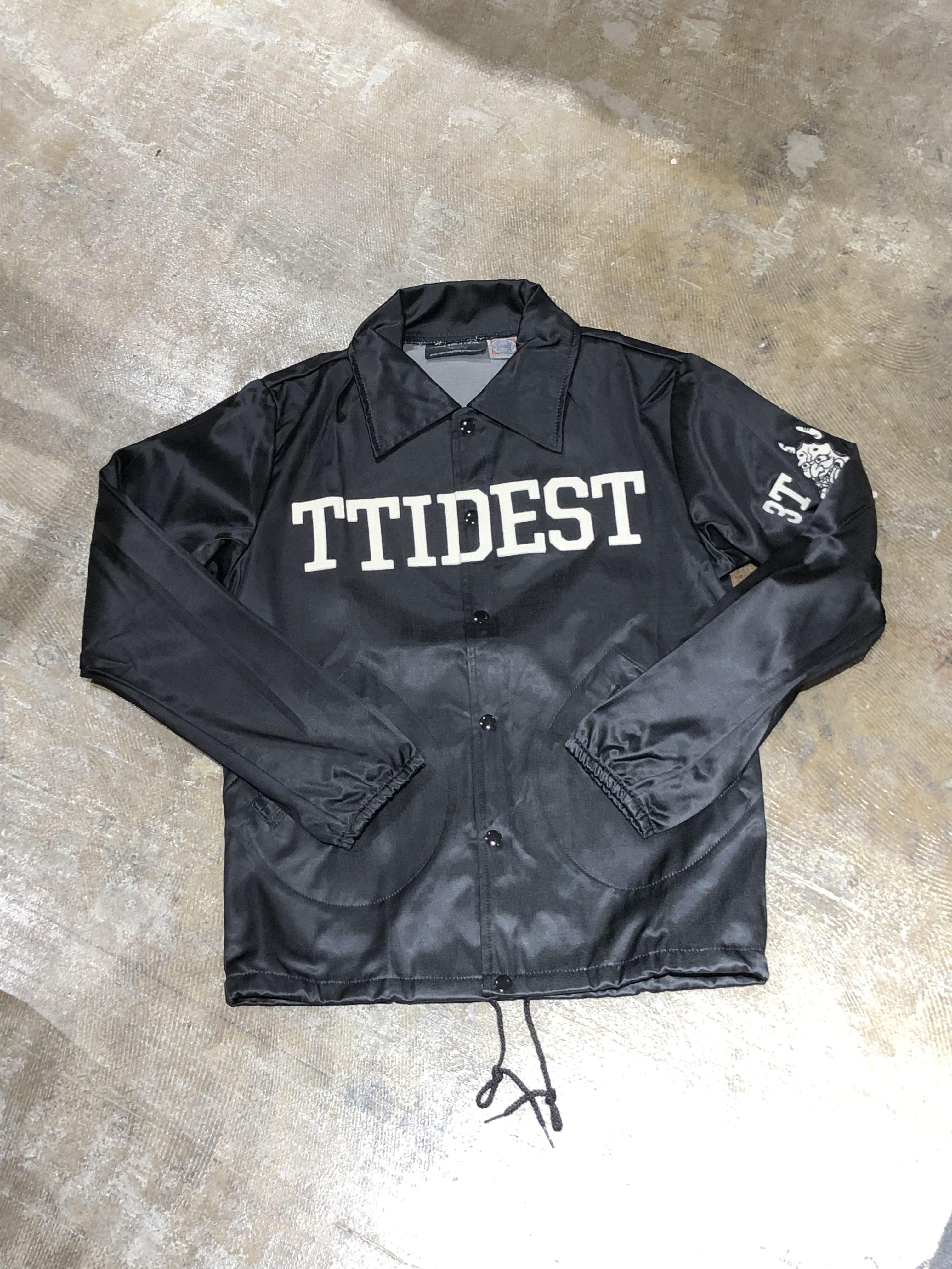 Three Tides Tattoo x Ebbets field Coach Jacket