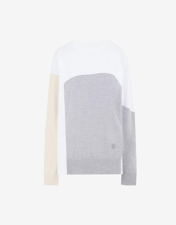 【MM⑥】≪21SS≫カラーブロック セーター S52HA0211S17649003F