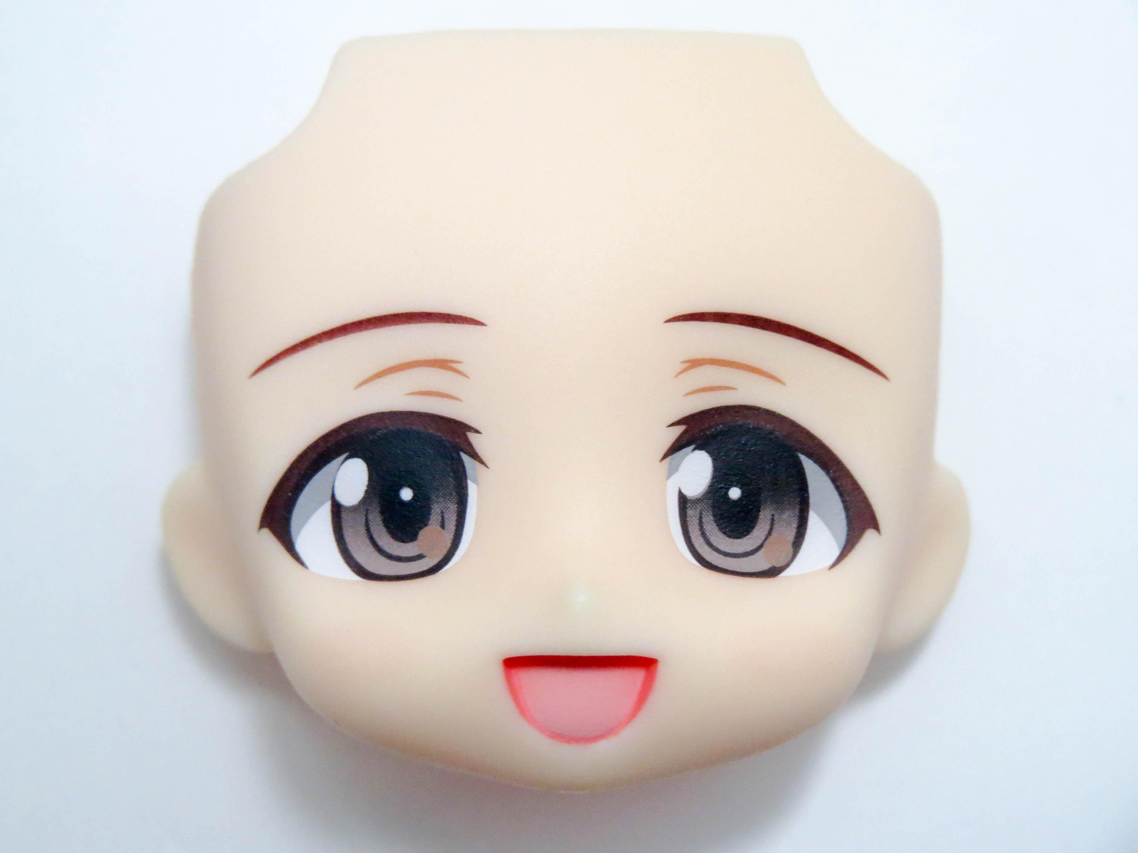 【SALE】【412】 秋山優花里 顔パーツ 笑顔 ねんどろいど