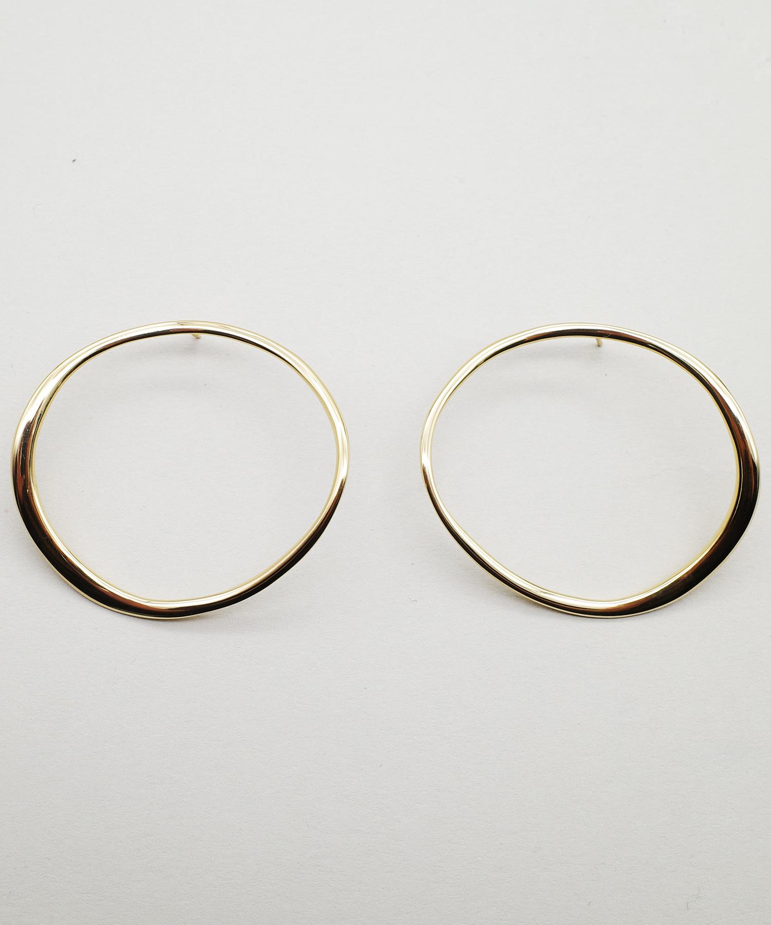 【blanc iris/ ブランイリス】Whirlpool collection Vermeil Pierce / ピアス