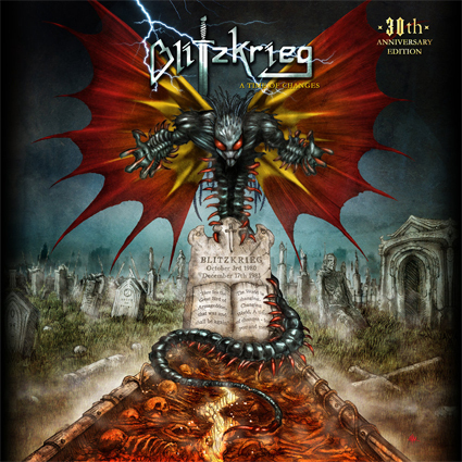"BLITZKRIEG ""A Time Of Changes: 30th Anniversary Edition"" (輸入盤)"