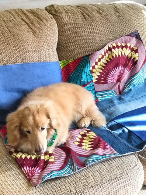 ぐっすり眠れるお昼寝パッチワークマット Lotus