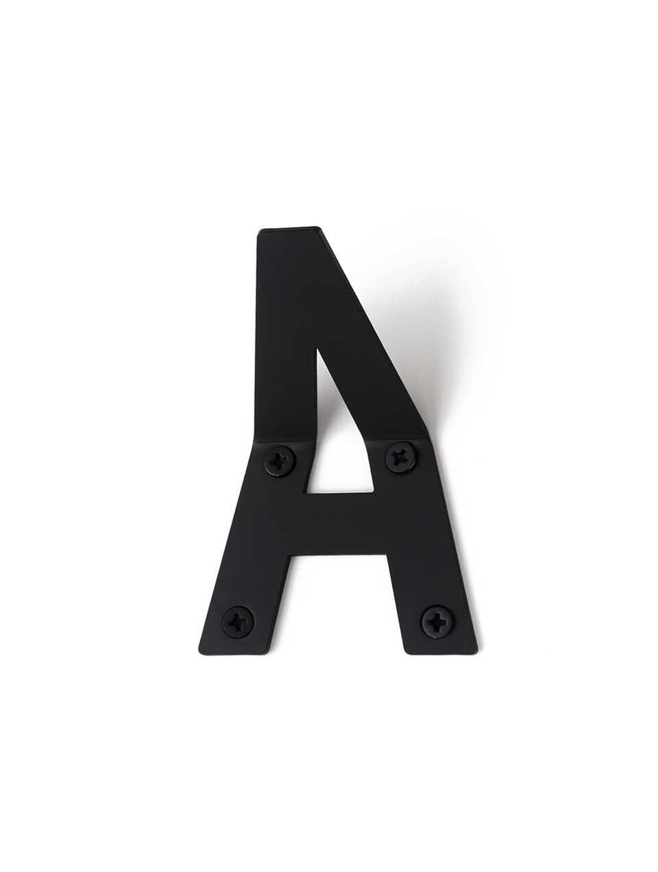 LETTER HOOK A フック 壁掛け サイン 英文字 アルファベット