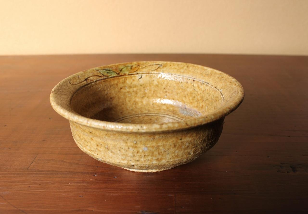 黄瀬戸丸鉢