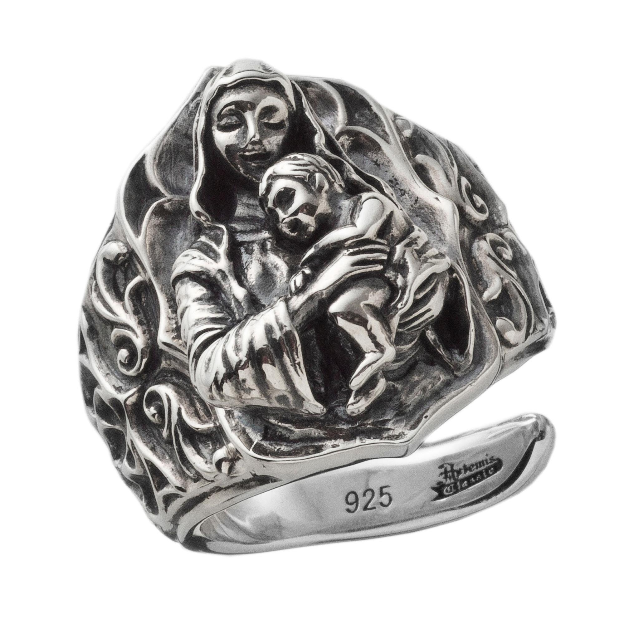 聖母子リング ACR0261 Madonna and Child Ring
