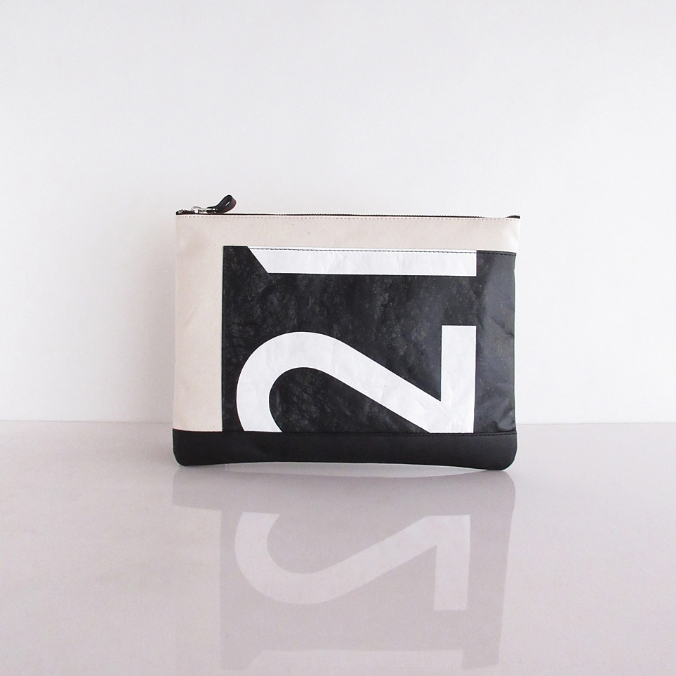Clutch Bag / White  CLW-0005