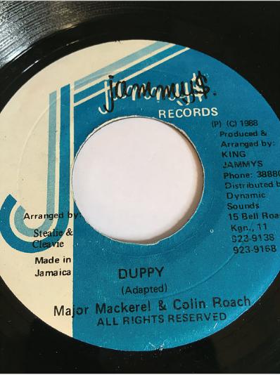 Major Mackerel(メジャーマッケレル) & Colin Roach(コリンローチ) - Duppy【7'】
