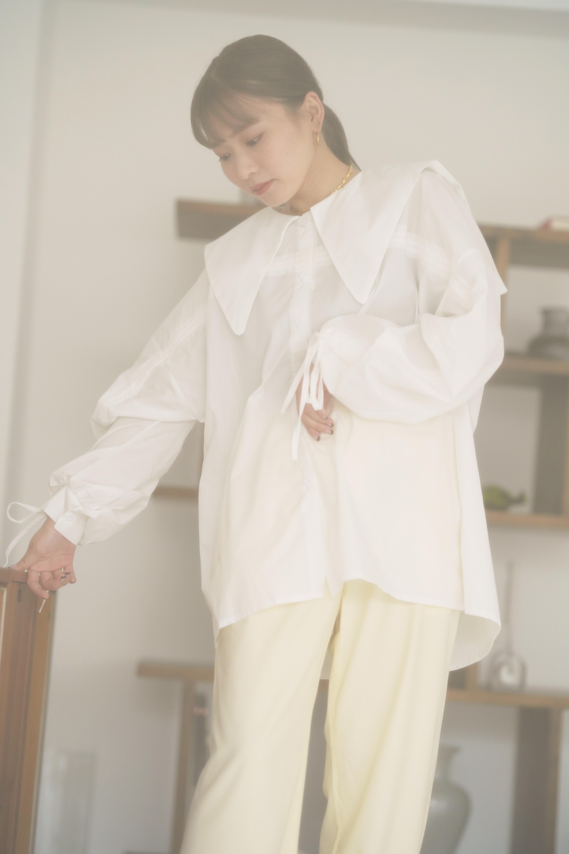 sailor blouse op [white](4/15L-12)