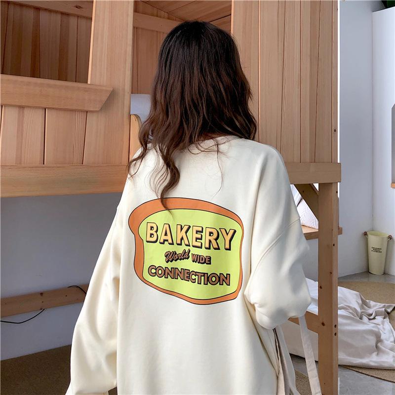 〈カフェシリーズ〉パン屋さんのルーズセーター①【bakery loose sweater】