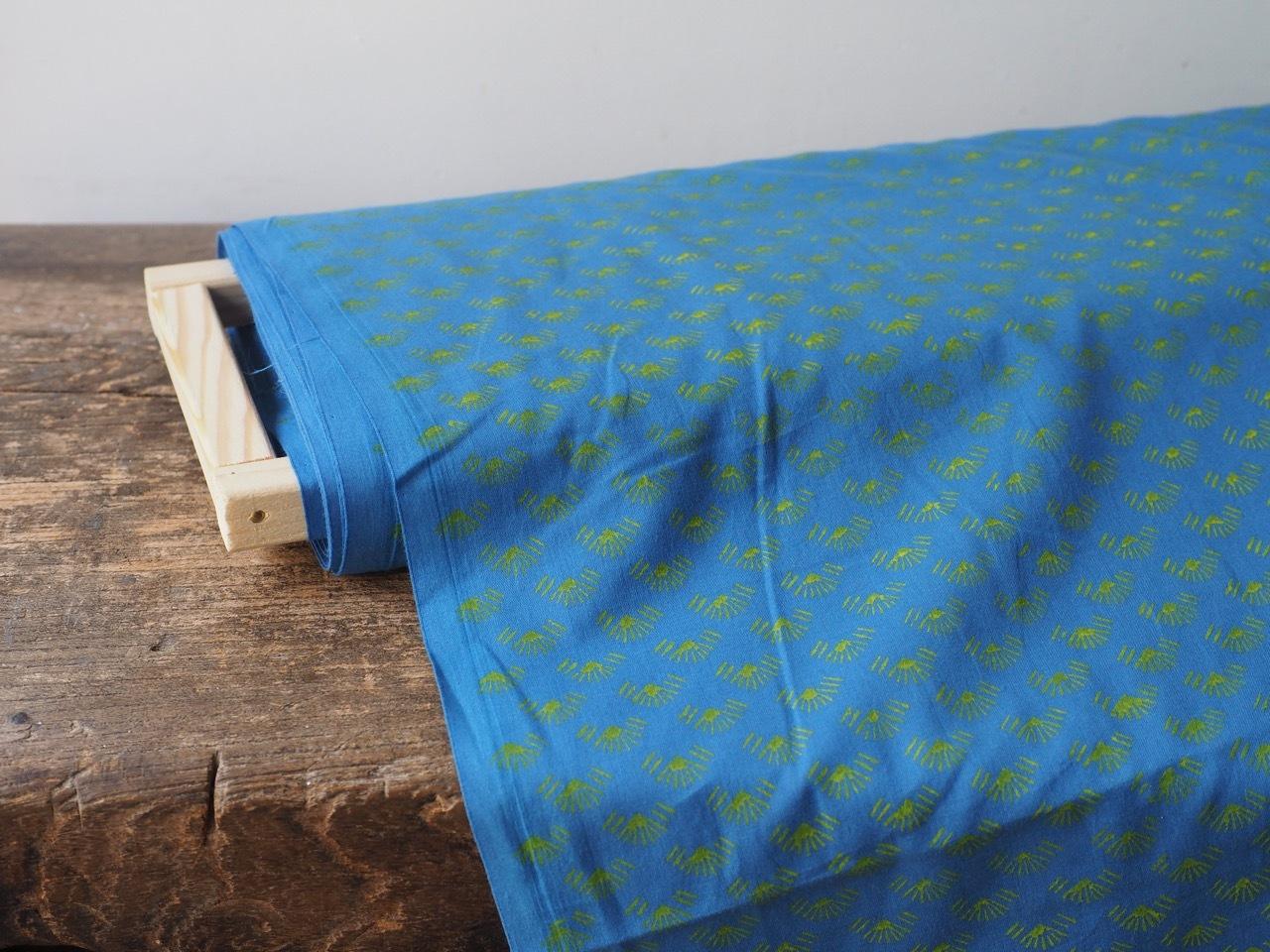 block print fabric b6 松葉