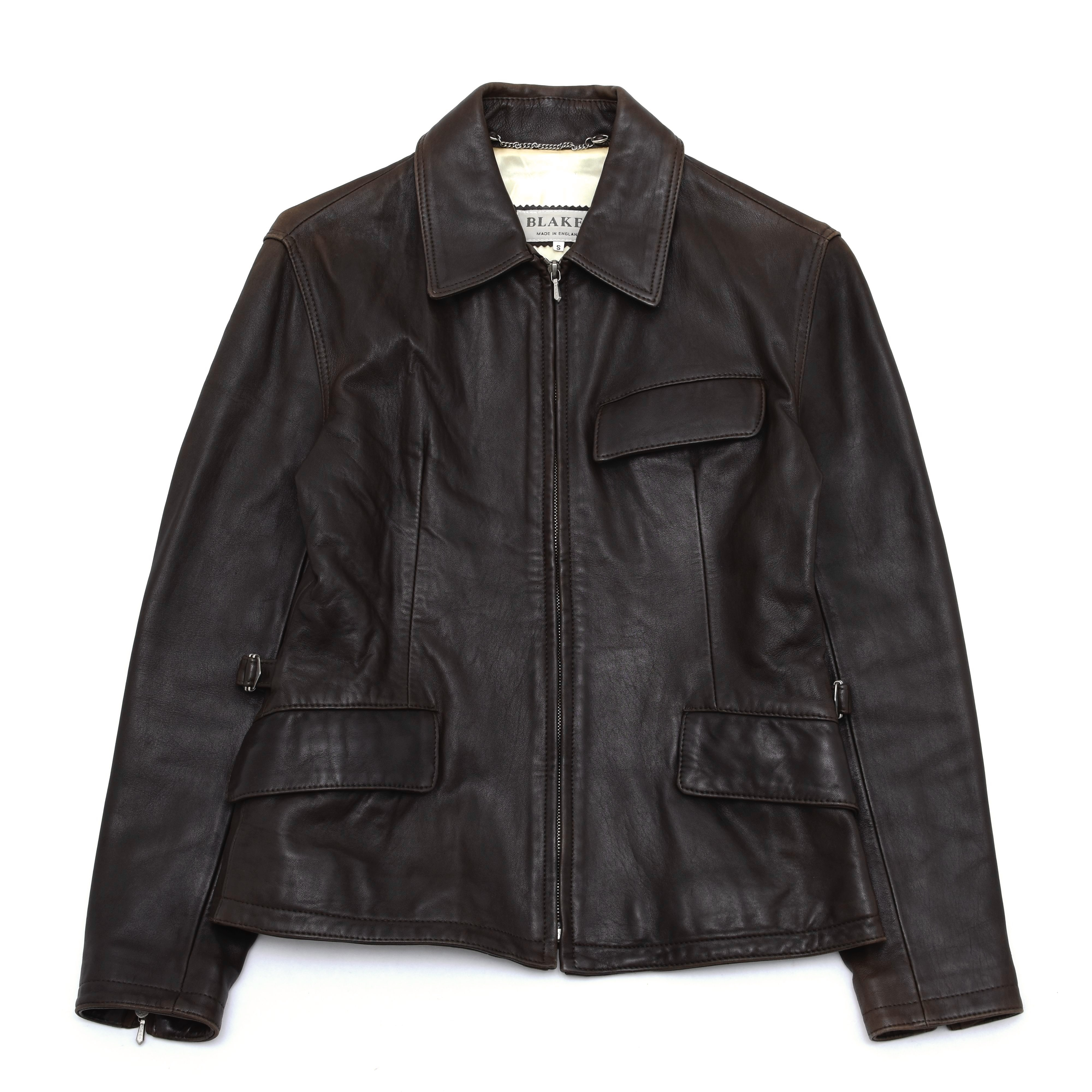 Made in England BRAKES leather jacket