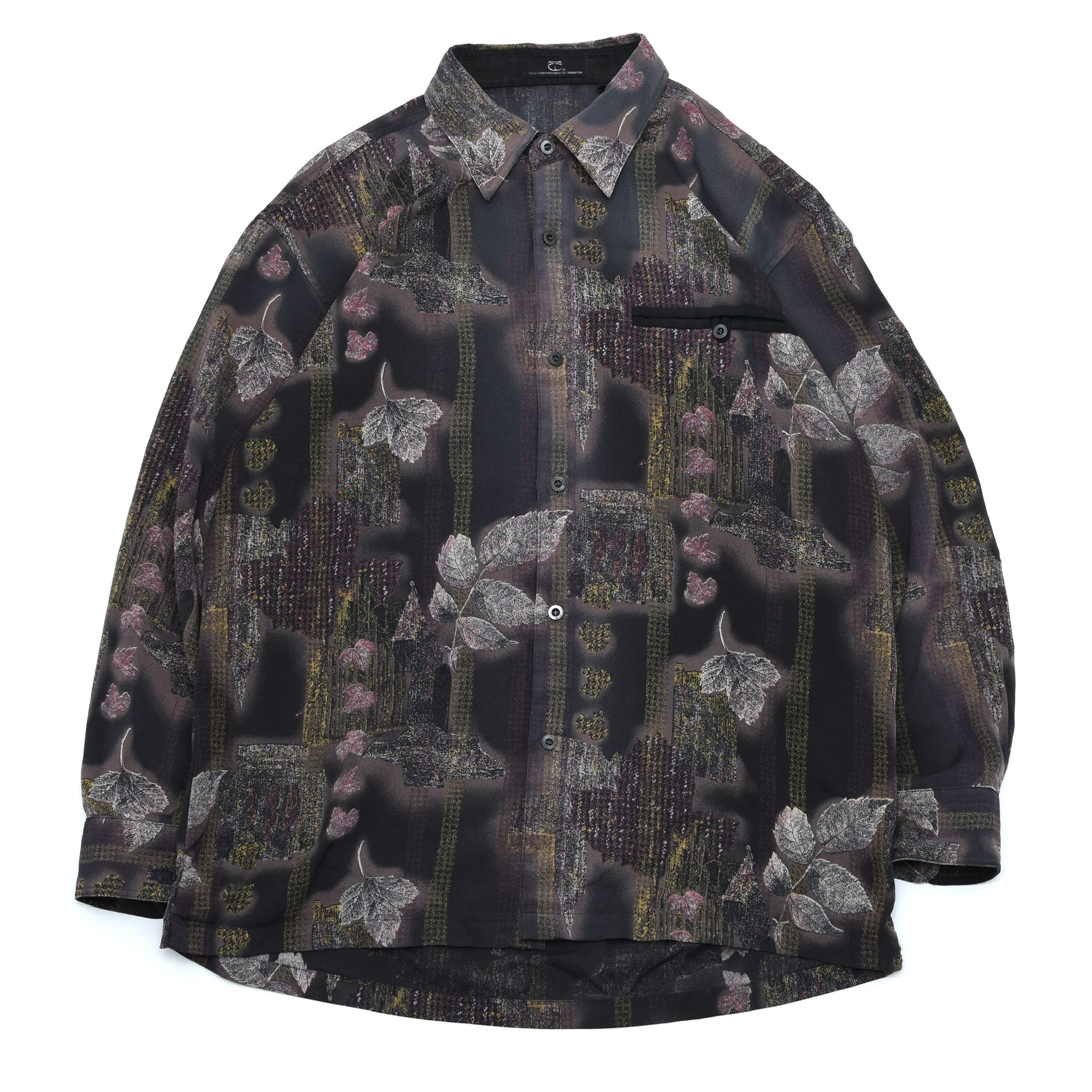 Mysterious full pattern shirt