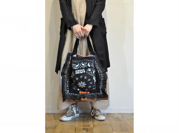 【RehersalL】bandanna bag(48)/【リハーズオール】バンダナバッグ(48)