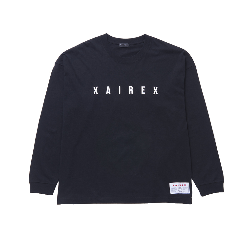 XAIREX LOGO L/S(WHITE)