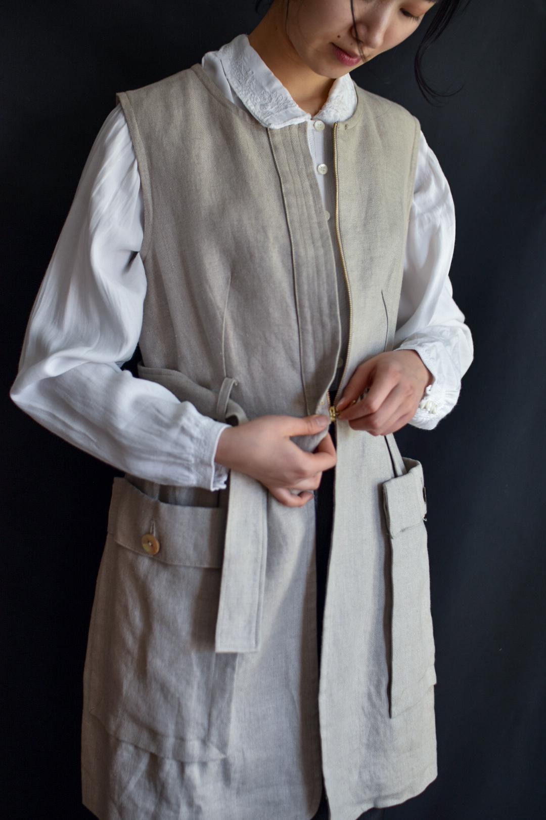 Eicayoshinari linen jacket