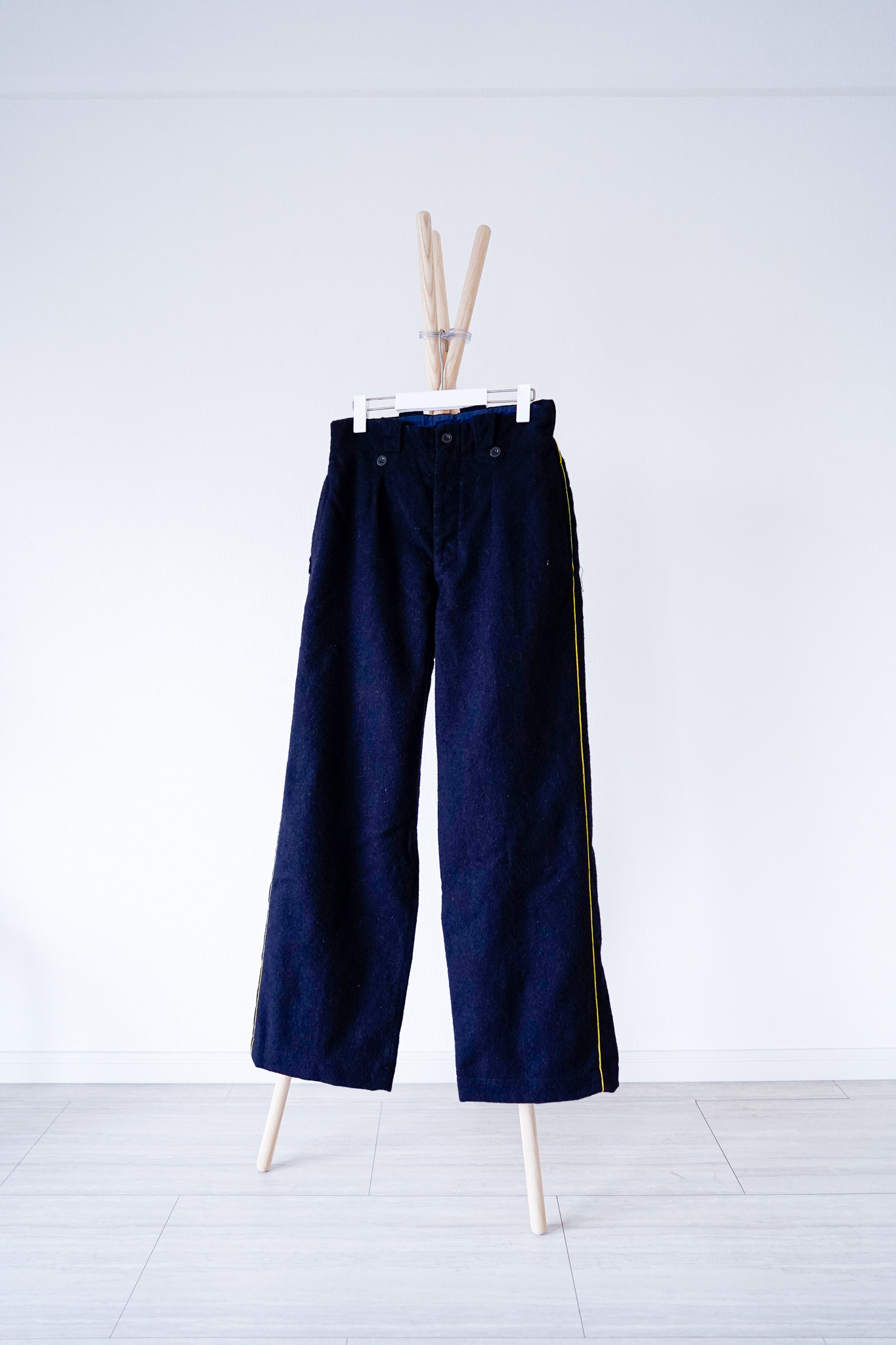 """【1950s】""""French Army"""" Wool Line Pants / v341"""