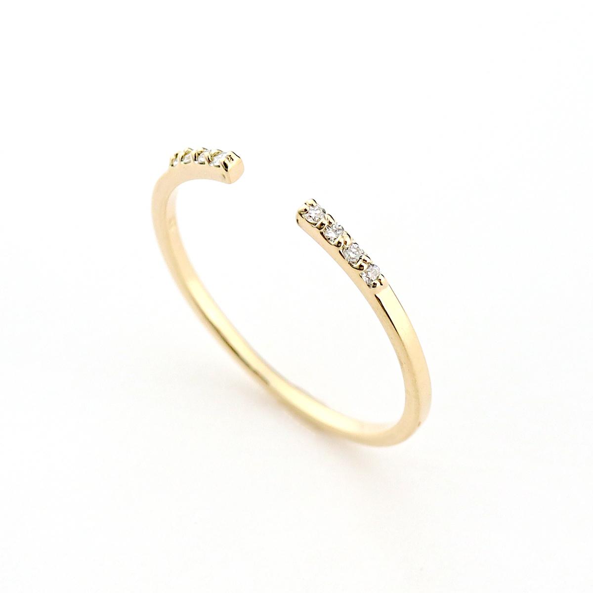 luster fork ring