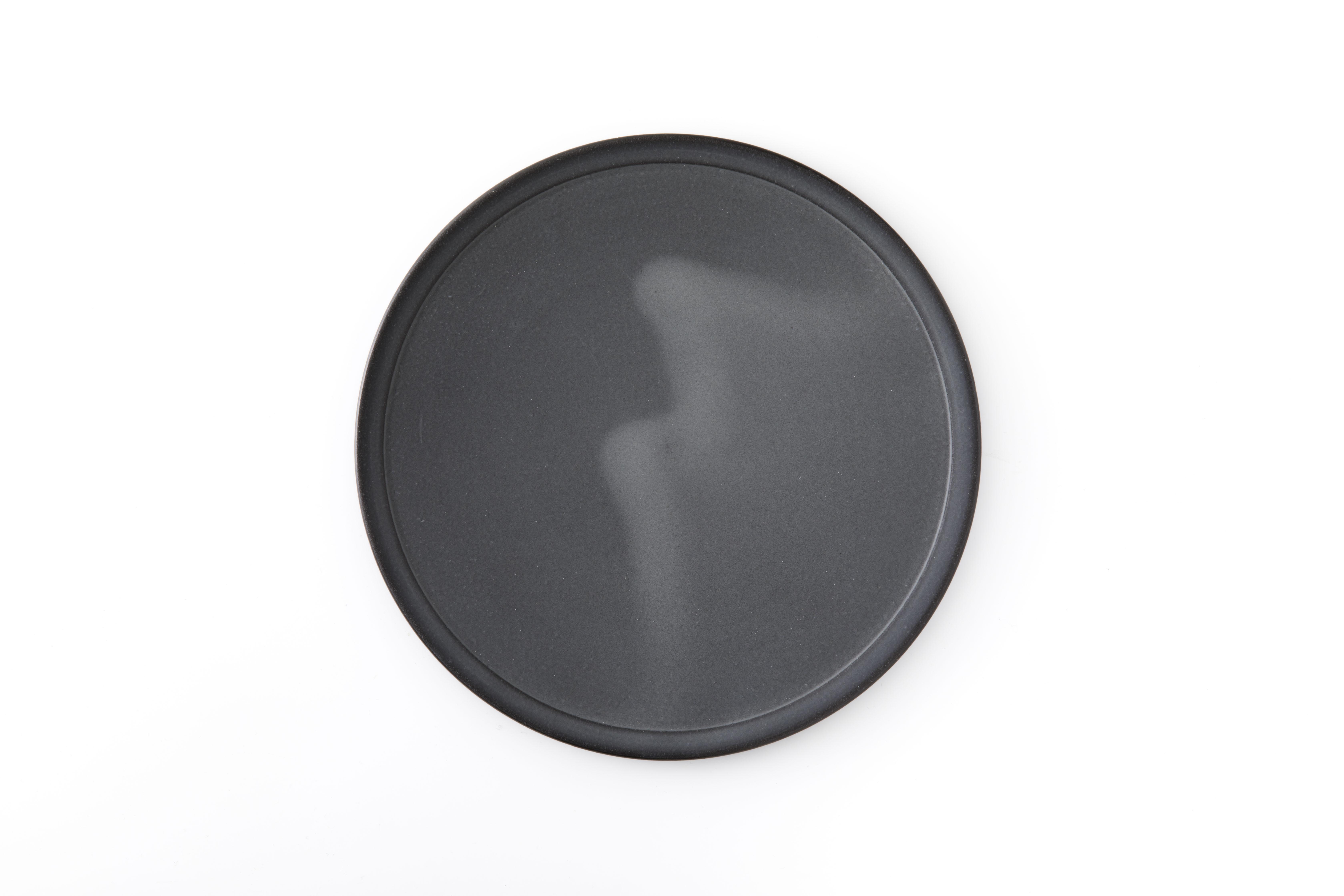 黒泥皿 : 7寸 / 3RD CERAMICS
