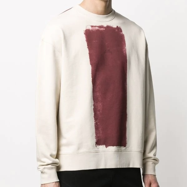 A-COLD-WALL* / BLOCK PAINTED CREW NECK