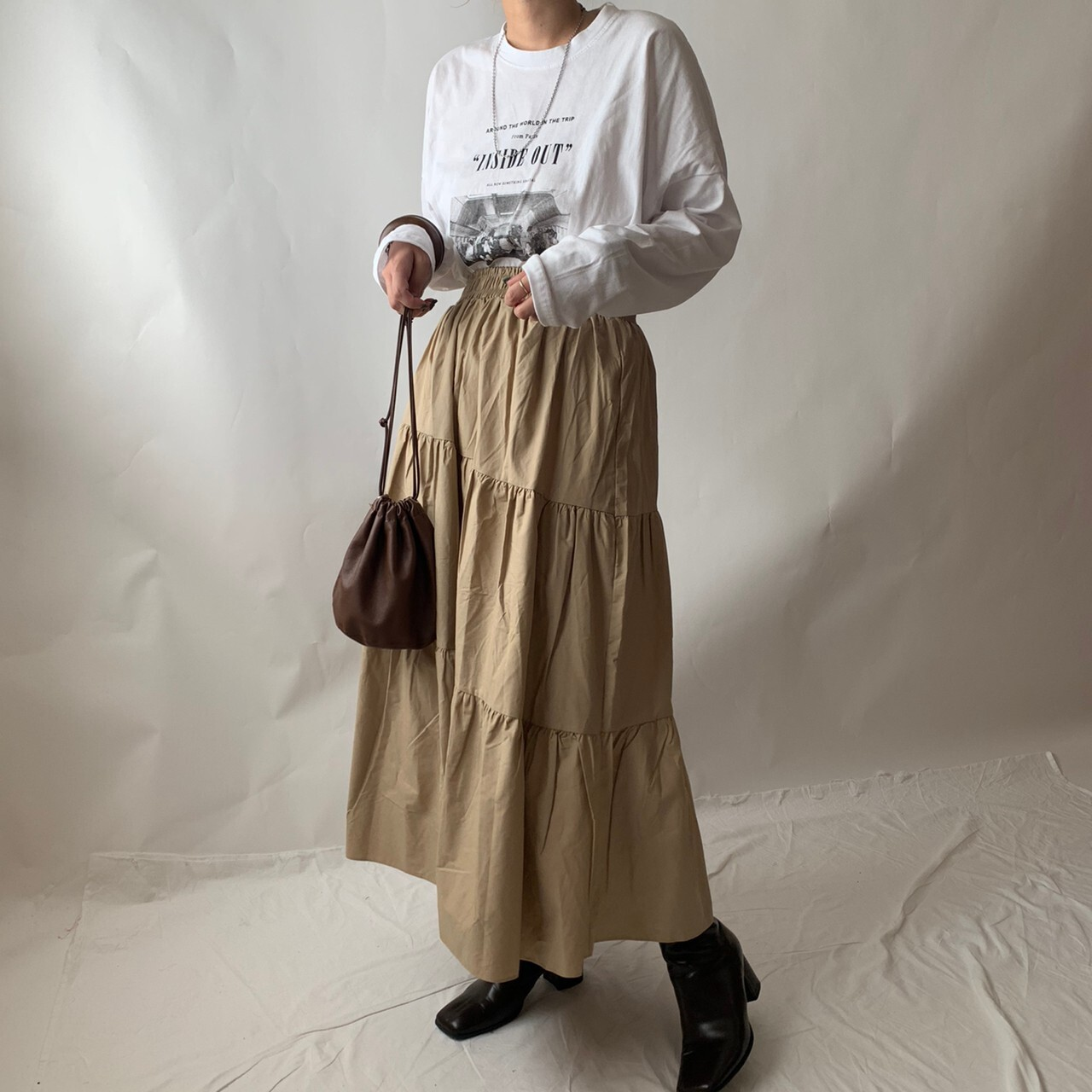 "【asyu】""inside out"" long T"