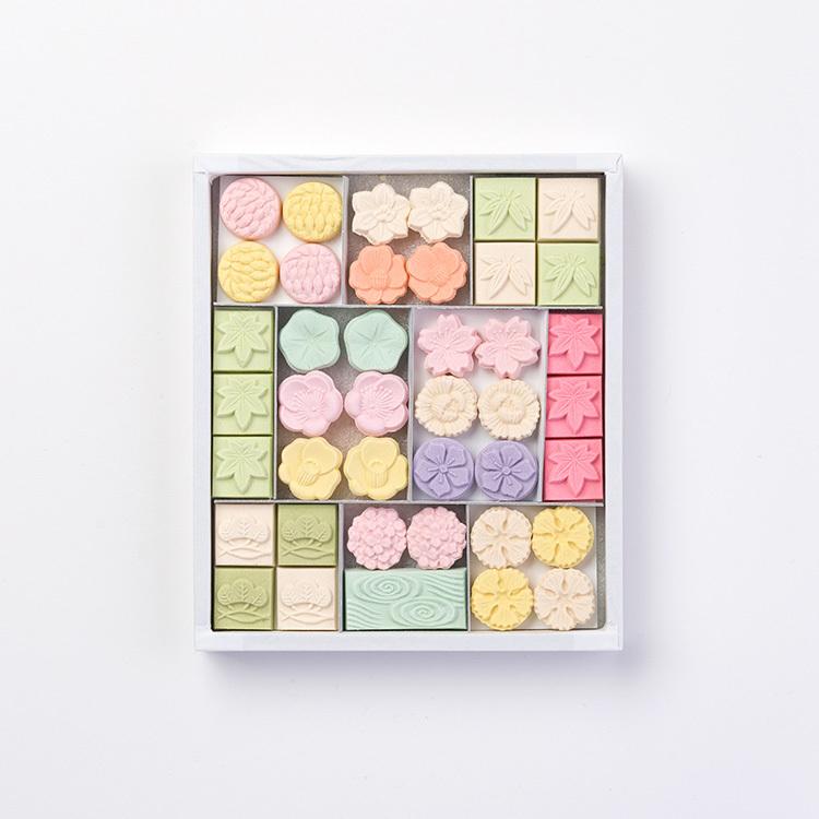 和三宝干菓子 華つづり(箱詰 41個入)