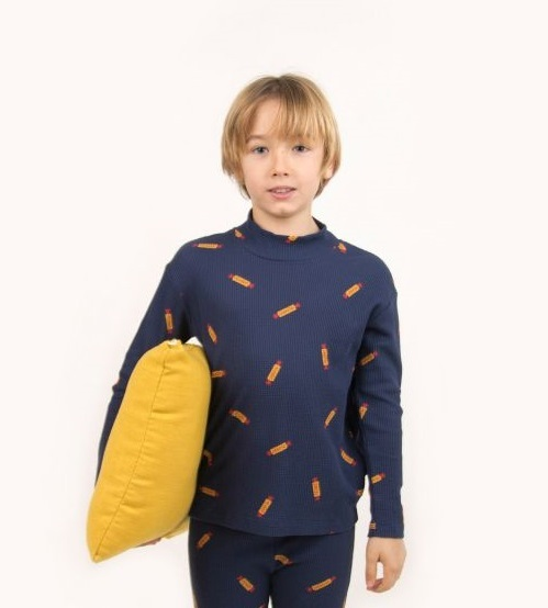 """TINYCOTTONS タイニーコットンズ """"PEANUTS"""" MOCKNECK TEE size:2Y(95-100)・4Y(100-110)"""